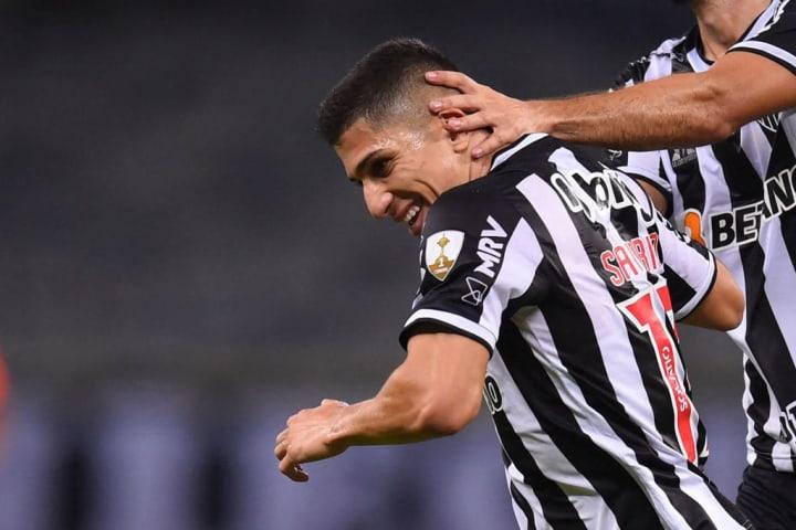 Savarino Gols Atlético-MG Flamengo Campeonato Brasileiro