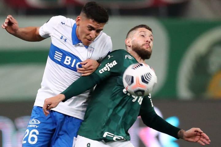Zé Rafael Palmeiras Seleção Oitavas Libertadores