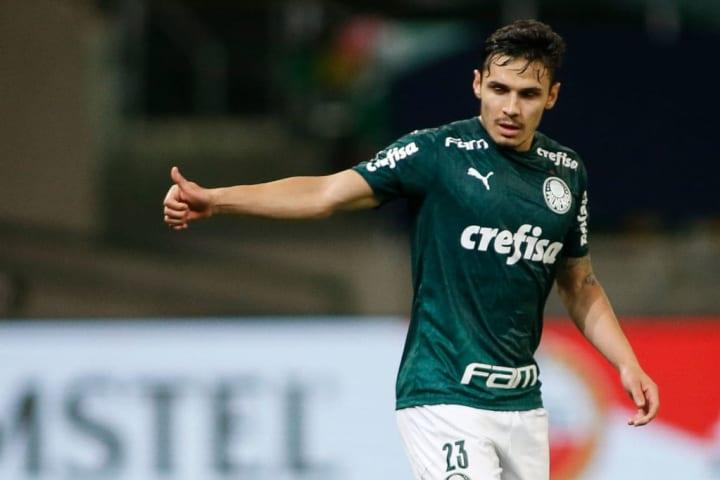 Raphael Veiga Palmeiras Recopa Defensa y Justicia Decepção