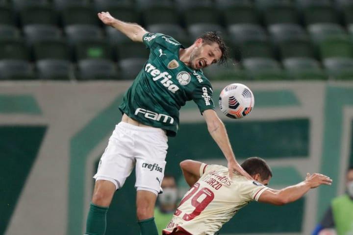 Matías Viña Palmeiras Lateral Estrangeiro Futebol brasileiro