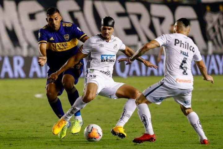 Libertadores Santos Boca Juniors