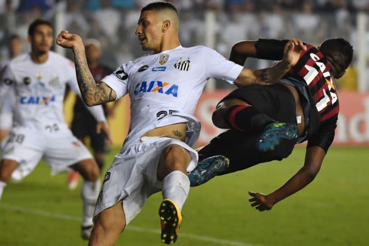 Grêmio Santos Mano a Mano Alison