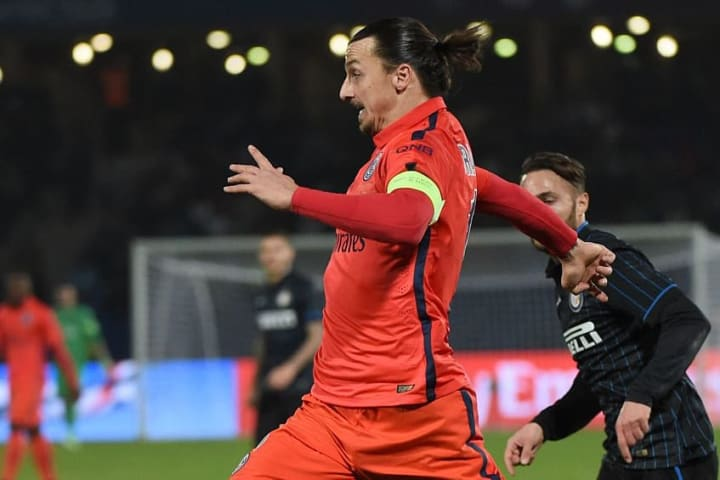 Ibrahimovic swapped Milan for Paris in the summer of 2012