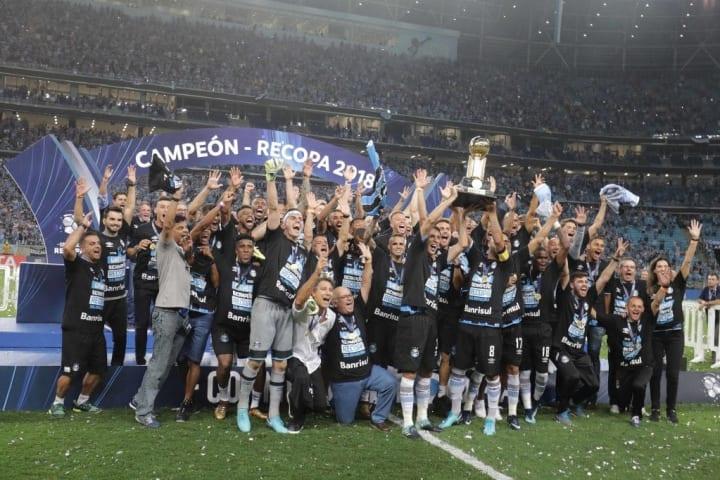 Recopa Sul-Americana Decisão Palmeiras Defensa y Justicia Grêmio Independiente 2018