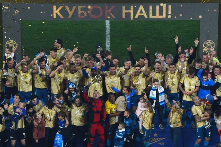 Zenit Saint Petersburg have already been crowned kings of Russia