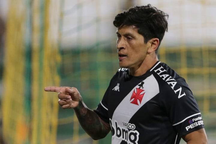 Germán Cano Vasco Centroavante São Paulo Reforço Benedetto
