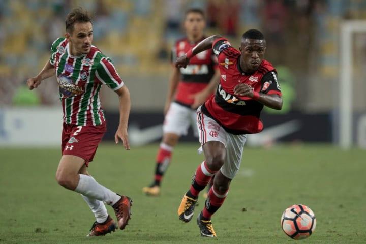 Flamengo Fluminense Sul-Americana Clássico 2017 2009