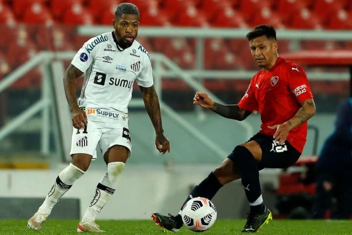 Sul-Americana Santos Independiente Vaga Marinho Fernando Diniz