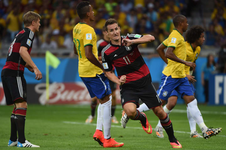 Appropriately enough, Klose broke Ronaldo's record in the 7-1 demolition of Brazil