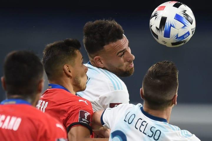 Argentina Paraguai Otamendi Copa América Mané Garrincha Lo Celso