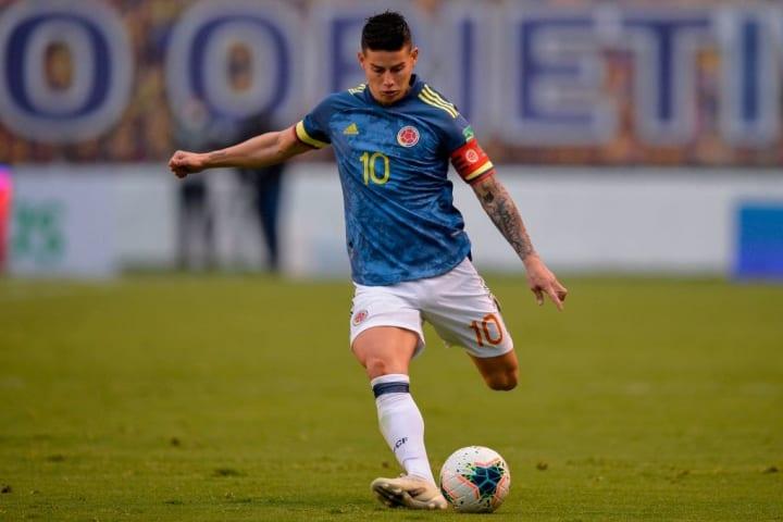 James Rodríguez Colômbia Copa América Título