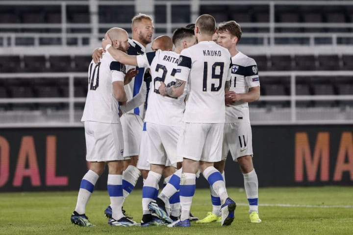 Finland have reached their first ever tournament