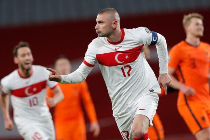 Lille striker Burak Yilmaz is still prolific at 35