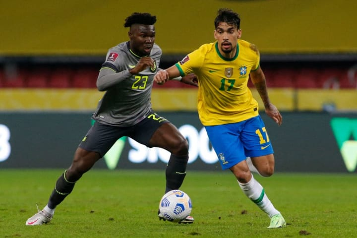 Lucas Paquetá Brasil Seleção Brasileira Copa América