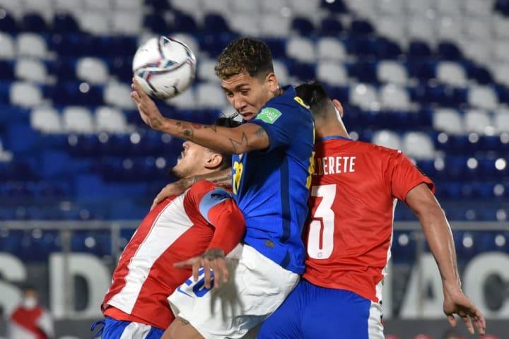 Brasil Paraguai Seleção Brasileira Roberto Firmino Eliminatórias Copa do Mundo