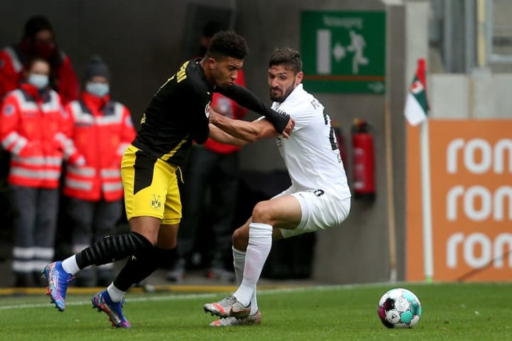 Augsburg's physicality and ruggedness got the better of BVB's nimble creators