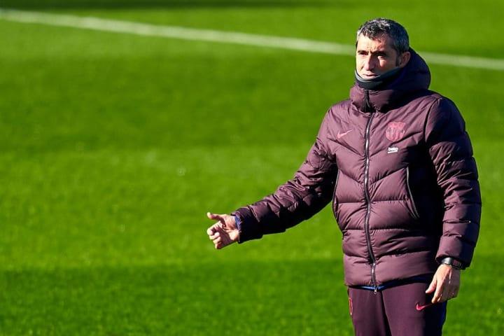 Former Barça manager Ernesto Valverde