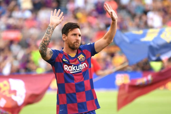 Lionel Messi Argentina Futebol Profissional País Barcelona