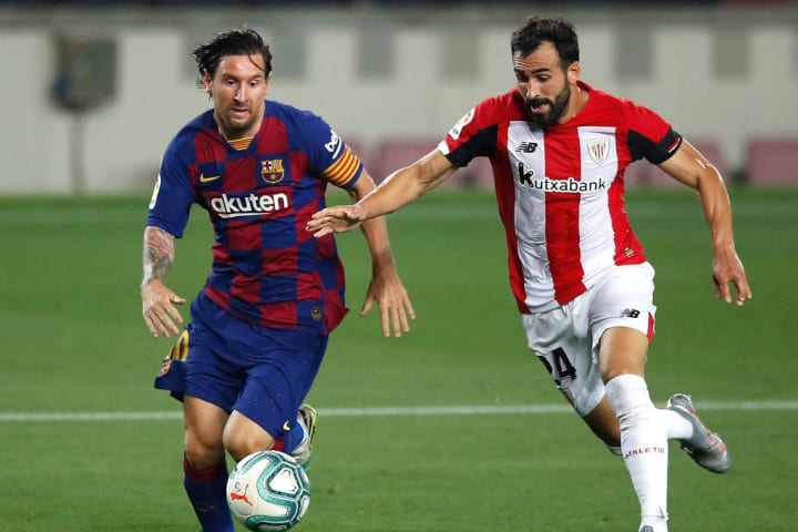 Lionel Messi, Mikel Balenziaga