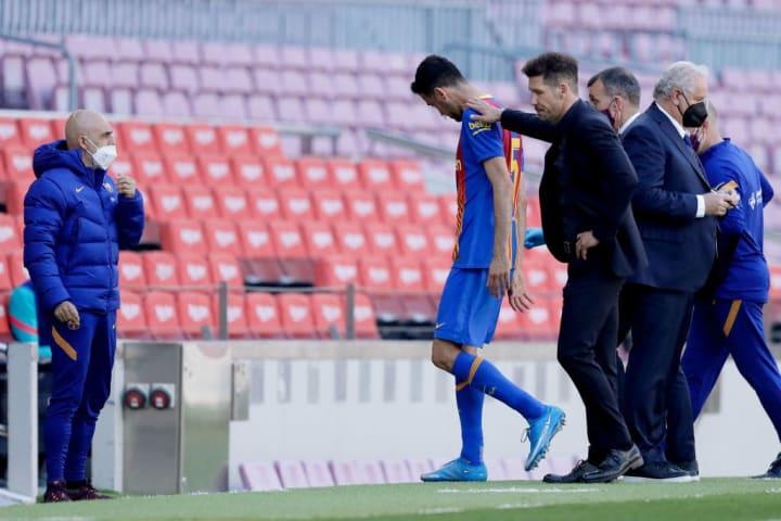 Diego Pablo Simeone, Sergio Busquets