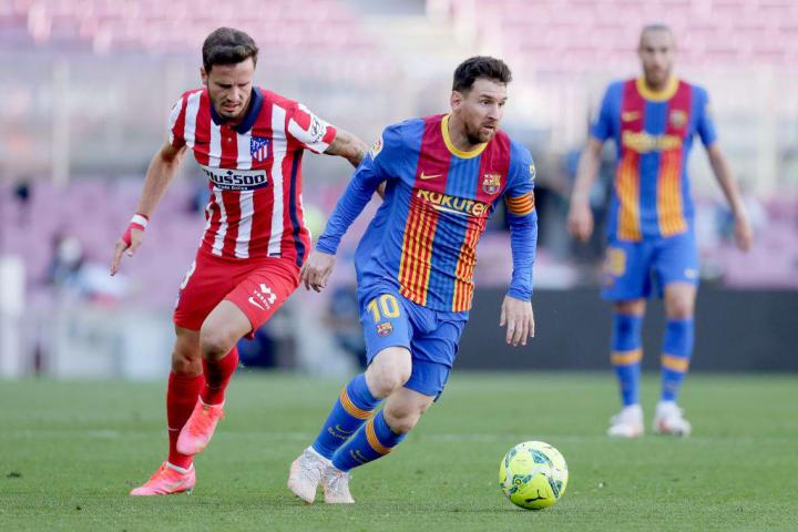 Lionel Messi, Saul Niguez
