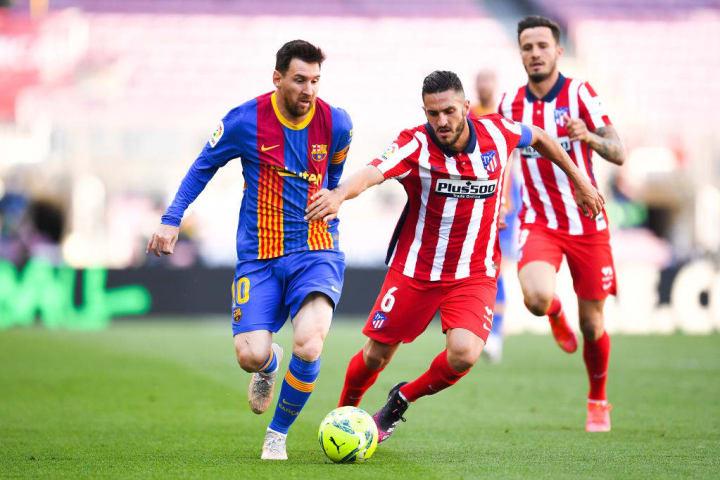 Lionel Messi, Koke Resurreccion