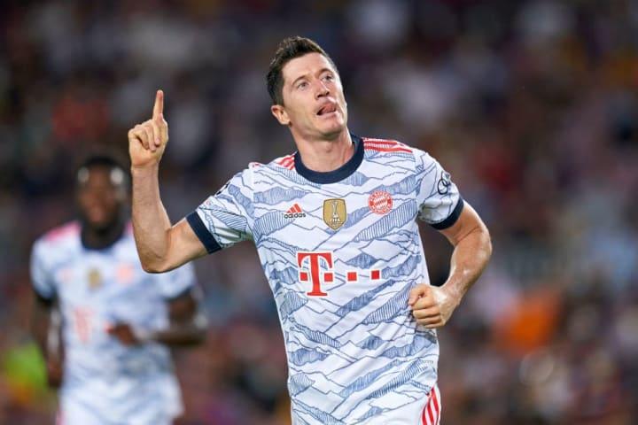 Robert Lewandowski Bayern Gabigol Flamengo