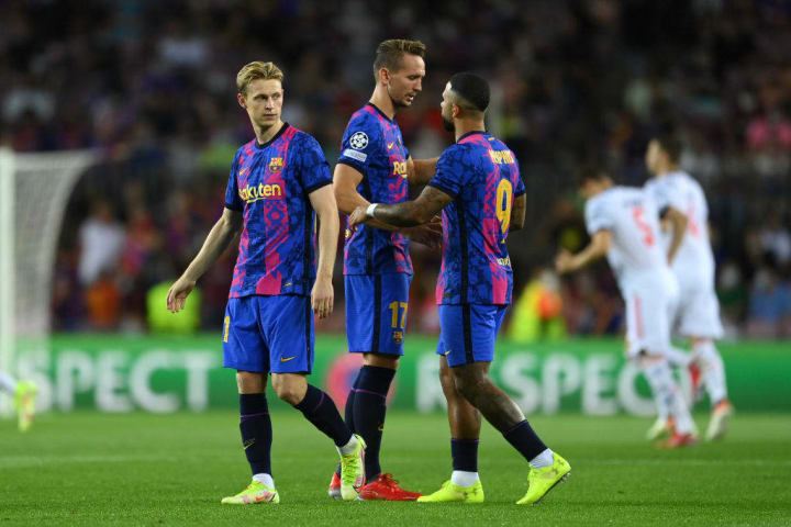 Barcelona were soundly beaten on matchday one