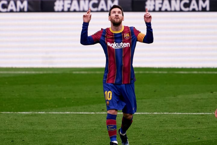 Leo Messi le marcó por primera vez al Cádiz en Liga