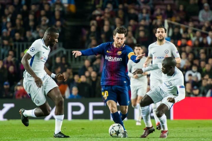 Lionel Andres Messi, N'Golo Kante, Antonio Rudiger