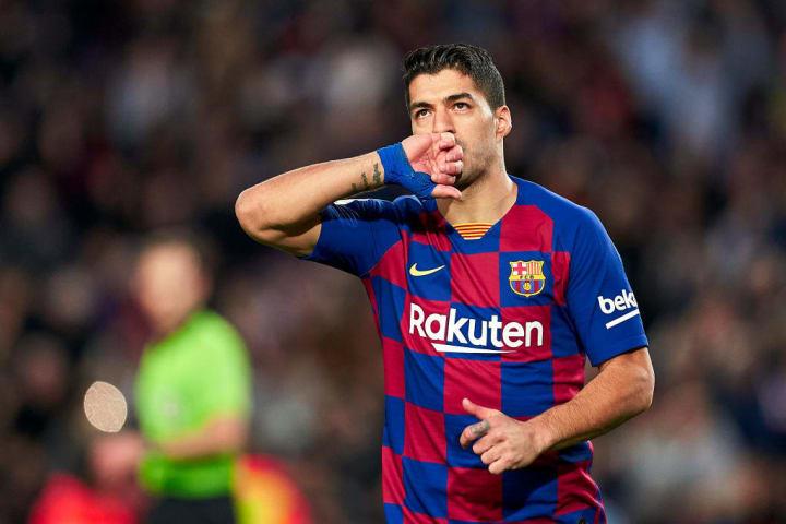 Luis Suárez, entre los máximos goleadores históricos del FC Barcelona