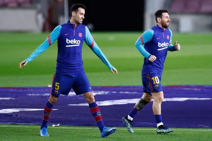 Sergi Busquets Lionel Messi Parceiro Carreira Barcelona