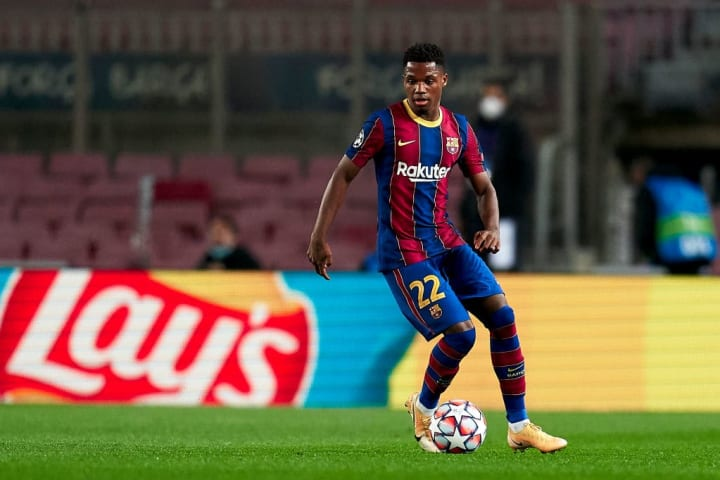 Barça are looking to hand Fati a new and improved deal