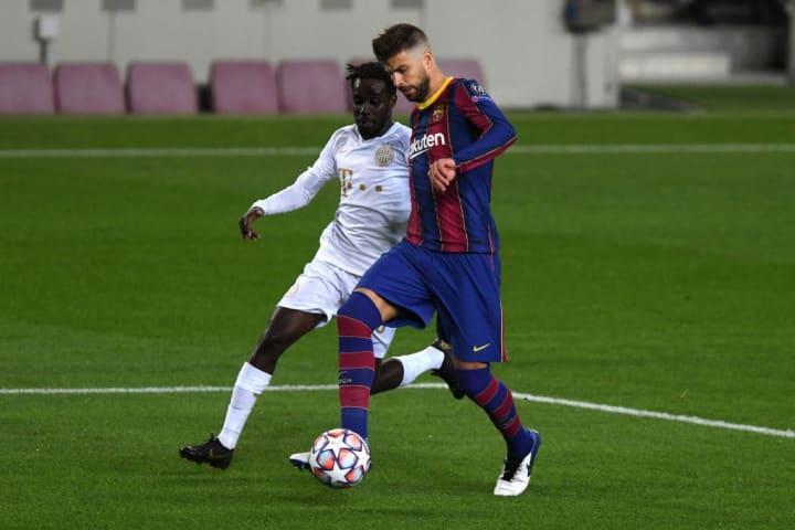 Pique was well below his normal standard against Ferencvaros