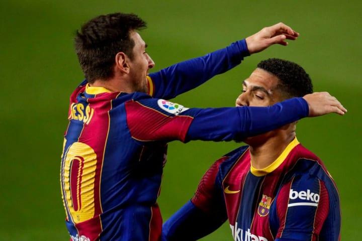 Messi bagged his last assist against Getafe