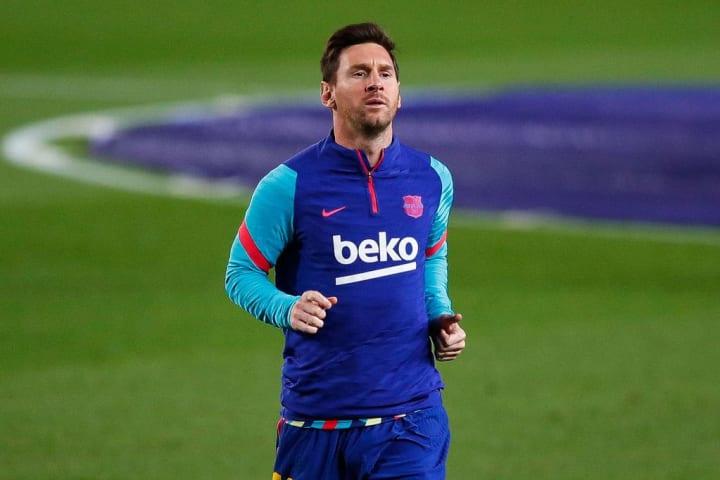Lionel Messi Barcelona Comunicado Superliga