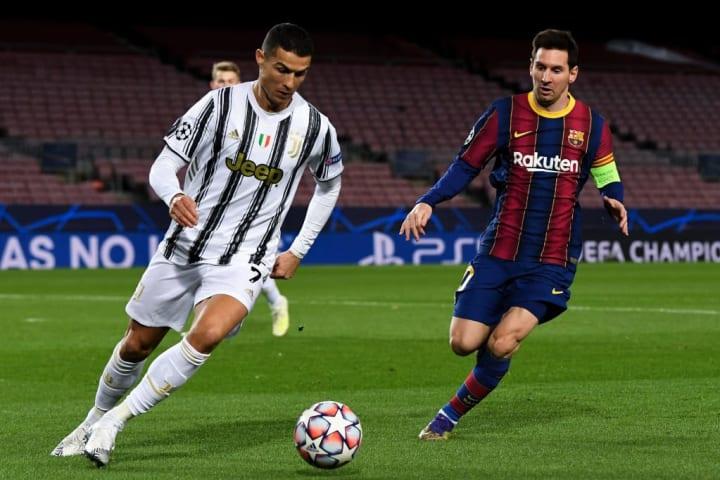 Crisitiano Ronaldo, Lionel Messi