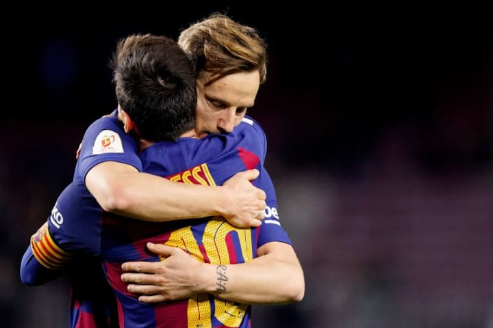 Ivan Rakitic Lionel Messi Parceiro Carreira Barcelona