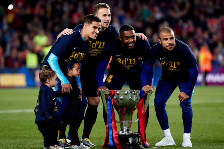 Philippe Coutinho, Arthur, Malcom, Rafinha