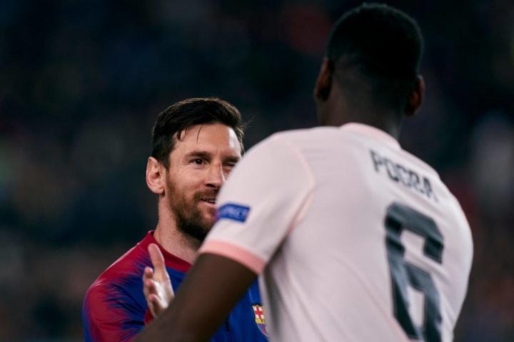 Lionel Messi, Paul Pogba
