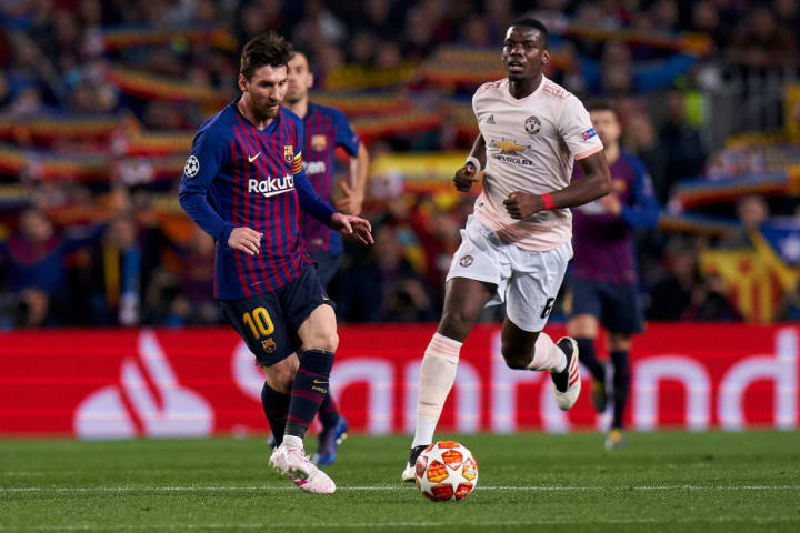 Lionel Messi, Paul Pogba