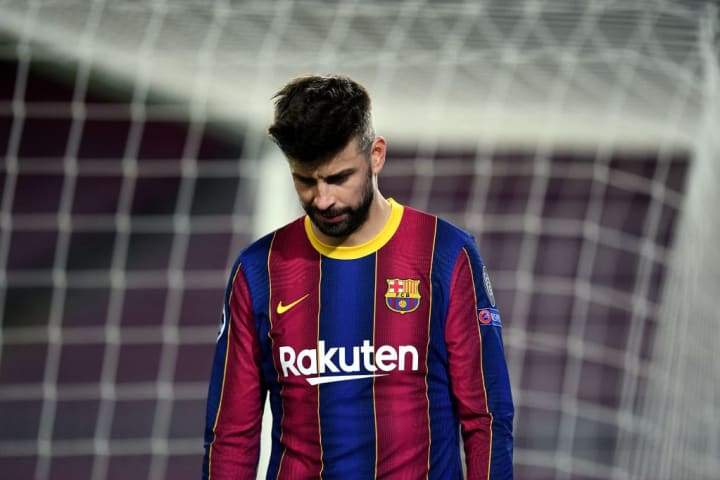Well Barcelona are out of the UCL...right?
