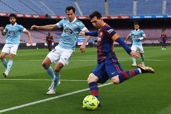 Lionel Messi, Augusto Solari