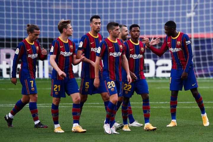 Barcelona are experiencing a tricky moment