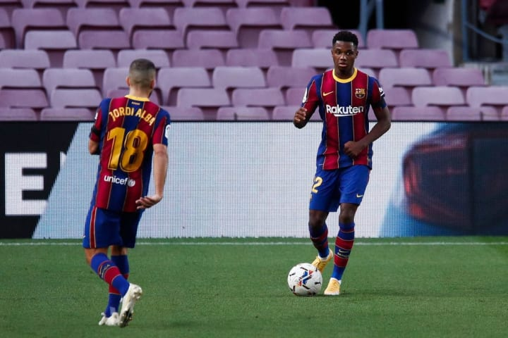 Ansu Fati Talento Futuro Gabriel Veron Barcelona