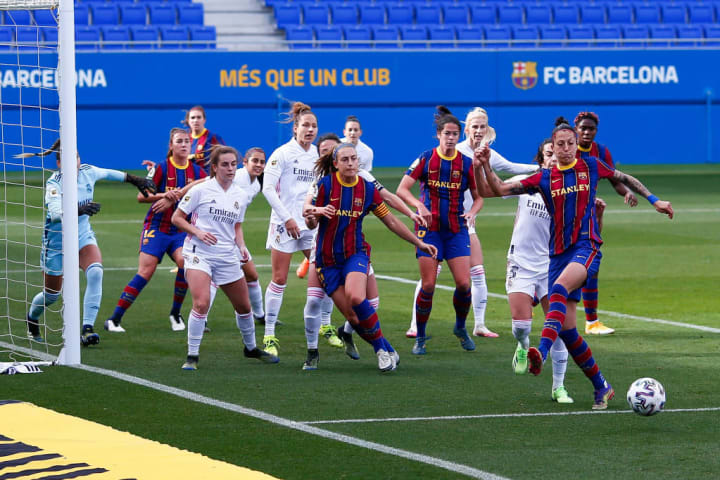 There was a first ever women's Clasico in October 2020