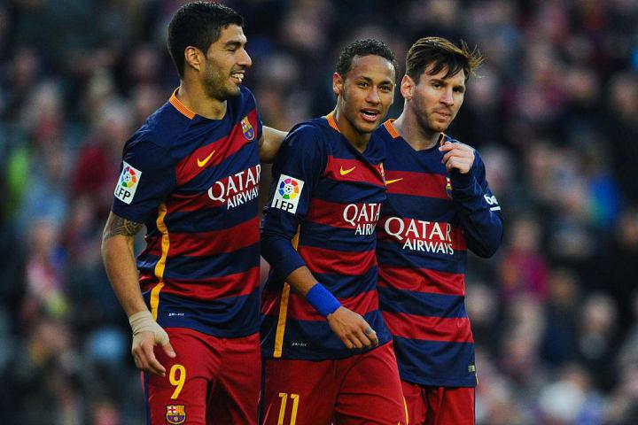 Neymar, Luis Suarez, Lionel Messi