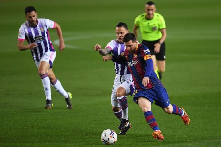 Roque Mesa, Lionel Messi