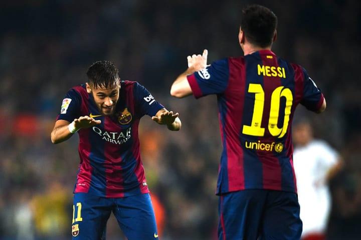 Lionel Messi Neymar Parceiro Barcelona Carreira