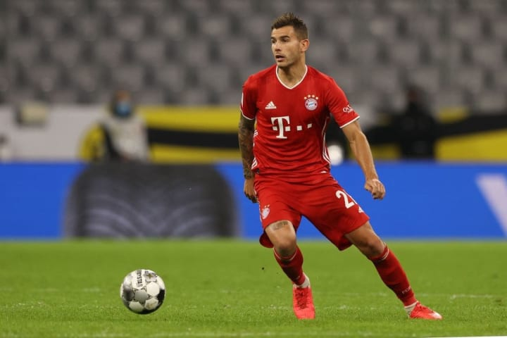 A fine showing from Frenchman Lucas Hernandez